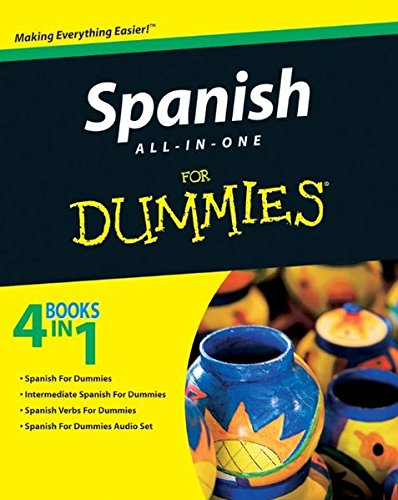 9780470555262: Spanish All-in-One For Dummies