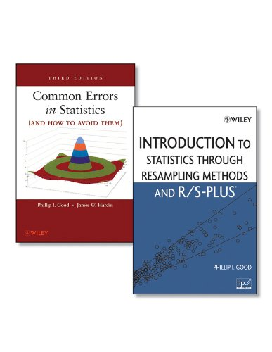 9780470555798: Common Errors in Statistics (And How to Avoid Them)/ Introduction to Statistics Through Resampling Methods and R/S-Plus