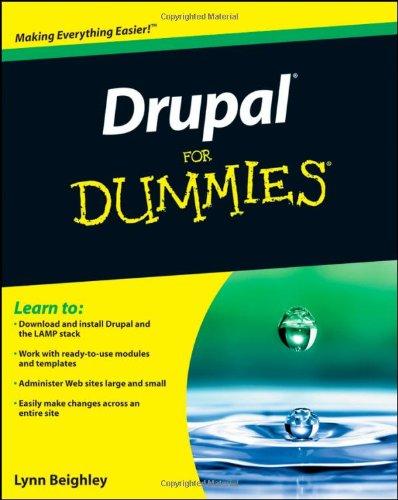 9780470556115: Drupal For Dummies