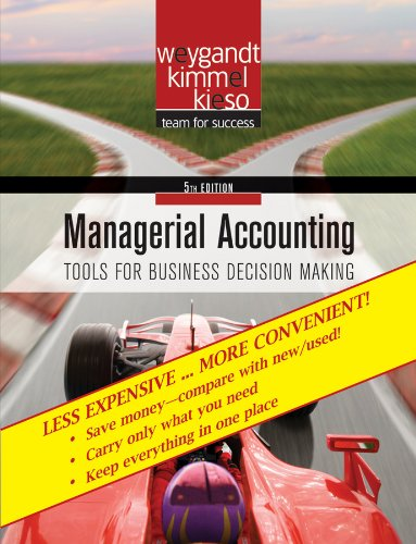 9780470556252: Managerial Accounting, Binder-Ready Version: Tools for Business Decision Making