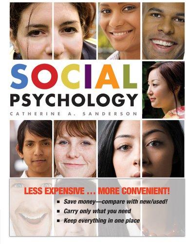 9780470556467: Social Psychology