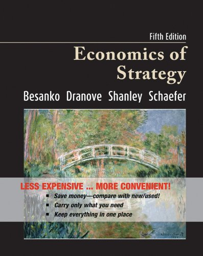 9780470556665: Economics of Strategy