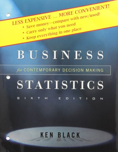 9780470556672: Business Statistics: Contemporary Decision Making