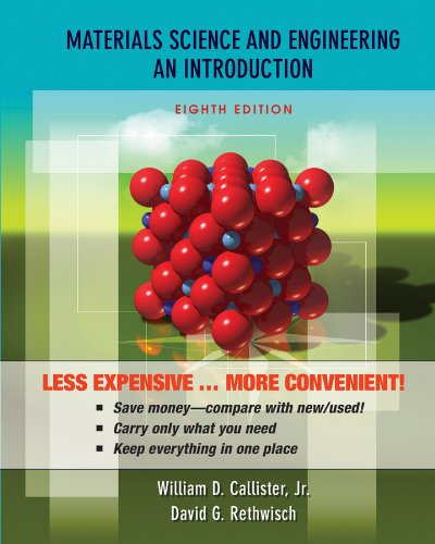 9780470556733: Materials Science and Engineering: An Introduction