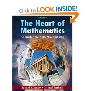 9780470557730: The Heart of Mathematics: An Invitation to Effective Thinking, 3rd Edition Binder Ready Version with Binder Set