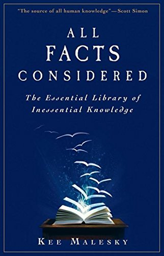 9780470559659: All Facts Considered: The Essential Library of Inessential Knowledge