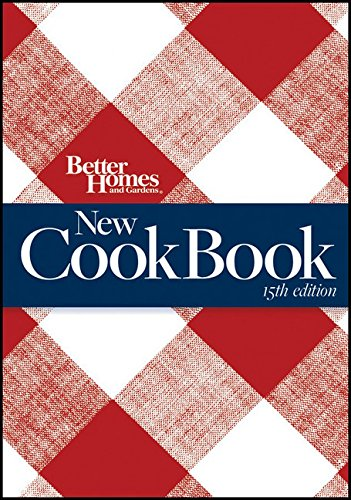 9780470560778: Better Homes and Gardens New Cook Book (Better Homes & Gardens Plaid)
