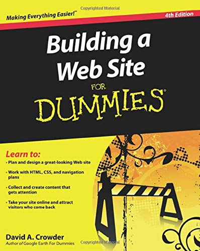 9780470560938: Building a Web Site For Dummies