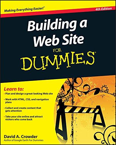 9780470560938: Building a Web Site for Dummies