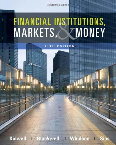 9780470561089: Financial Institutions, Markets, and Money