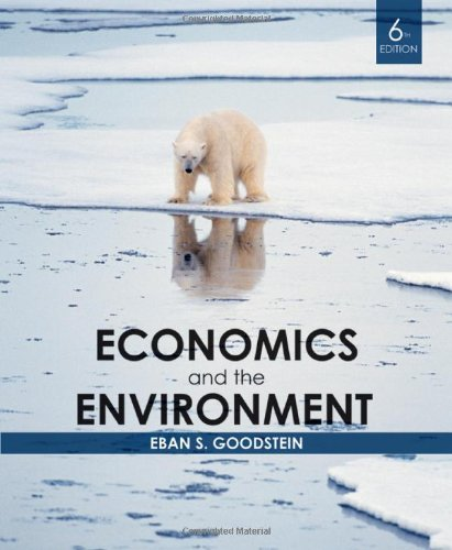 9780470561096: Economics and the Environment