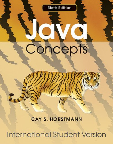 9780470561591: Java Concepts 6/E for Java 7 and 8 International Student Version