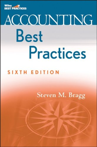 9780470561652: Accounting Best Practices (Wiley Best Practices)