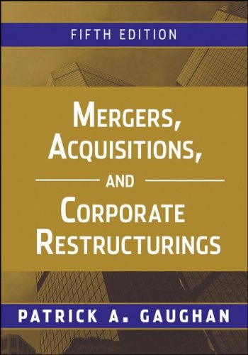 9780470561966: Mergers, Acquisitions, and Corporate Restructurings