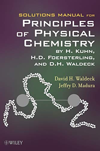 9780470561973: Solutions Manual for Principles of Physical Chemistry