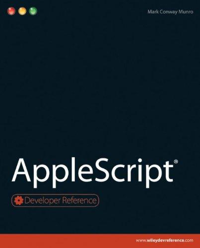 9780470562291: AppleScript (Developer Reference)