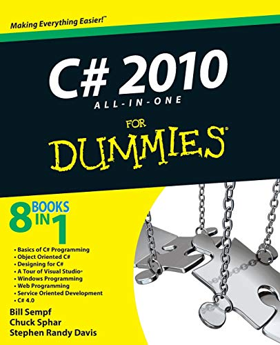 9780470563489: C# 2010 All-in-One For Dummies