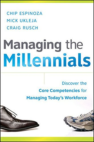9780470563939: Managing the Millennials: Discover the Core Competencies for Managing Today's Workforce