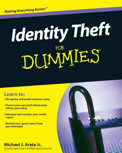 9780470565216: Identity Theft For Dummies