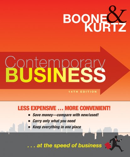 9780470565308: Contemporary Business