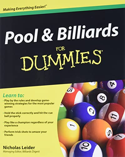 9780470565537: Pool & Billiards for Dummies