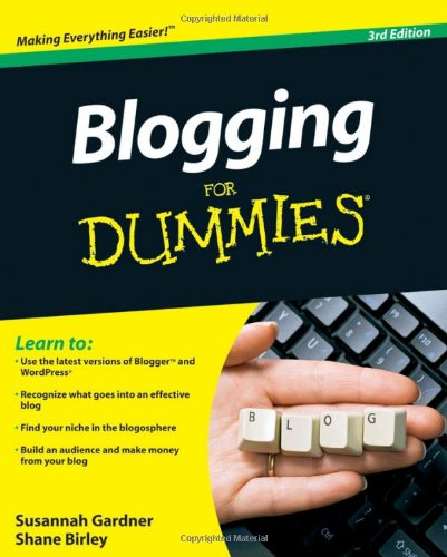 9780470565568: Blogging For Dummies, 3rd Edition