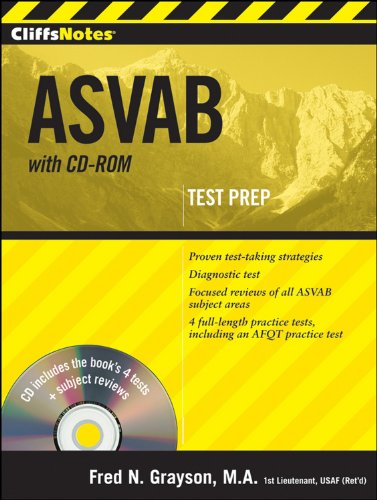 9780470566831: CliffsNotes ASVAB with CD-ROM
