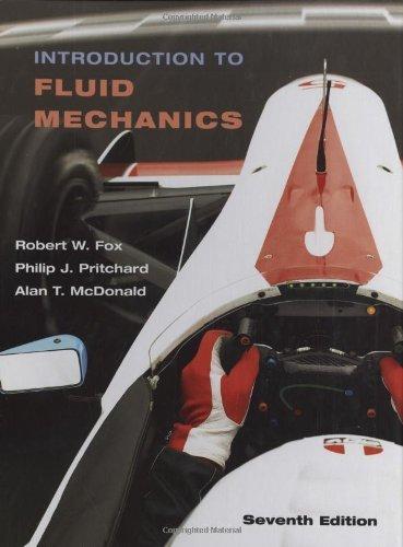 Introduction to Fluid Mechanics, 7th Edition: Fox, Robert W.;