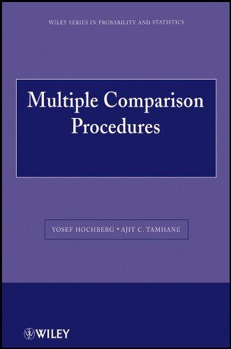 9780470568330: Multiple Comparison Procedures
