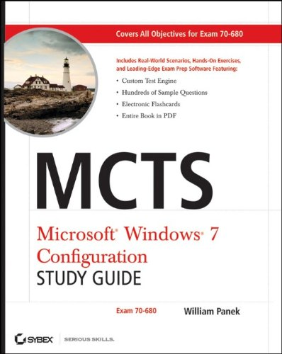 9780470568750: MCTS Windows 7 Configuration Study Guide: Exam 70-680
