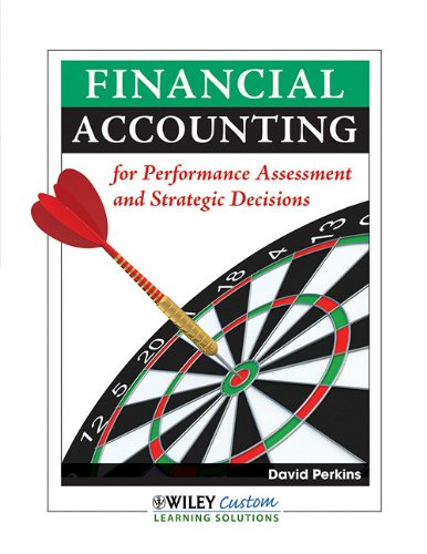 9780470568965: Financial Accounting for Performance Assessment and Strategic Decisions
