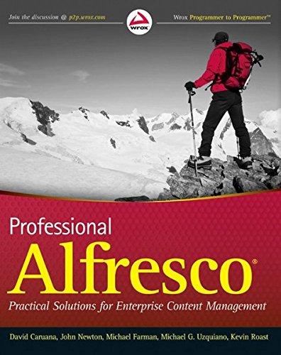 9780470571040: Professional Alfresco: Practical Solutions for Enterprise Content Management