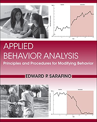 9780470571521: Applied Behavior Analysis: Principles and Procedures in Behavior Modification