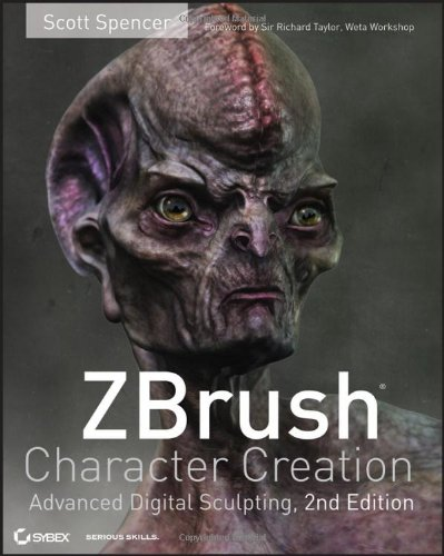 9780470572573: ZBrush Character Creation: Advanced Digital Sculpting