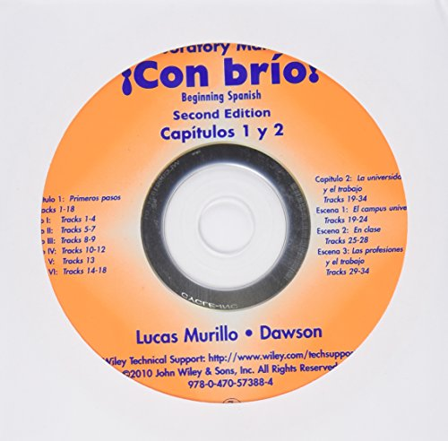 Lab Audio CDs to accompany Con brio: Murillo, Maria Concepcion