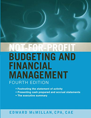 9780470575413: Not-for-Profit Budgeting and Financial Management