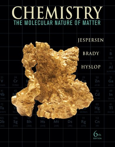 9780470577714: Chemistry: The Molecular Nature of Matter