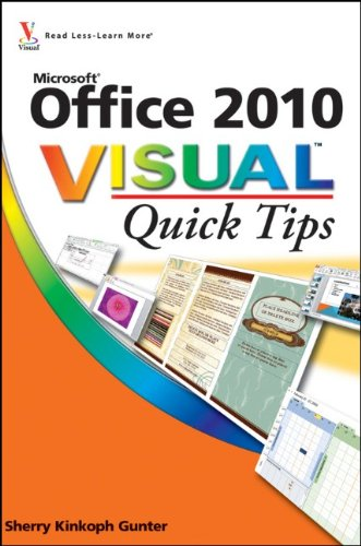 9780470577752: Office 2010 Visual Quick Tips