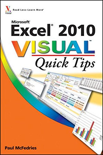 9780470577769: Excel 2010 Visual Quick Tips