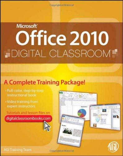 9780470577776: Microsoft Office 2010 Digital Classroom