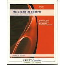 Mas Alla De Las Palabras, Intermediate Spanish, 2e, University of Michigan: Various