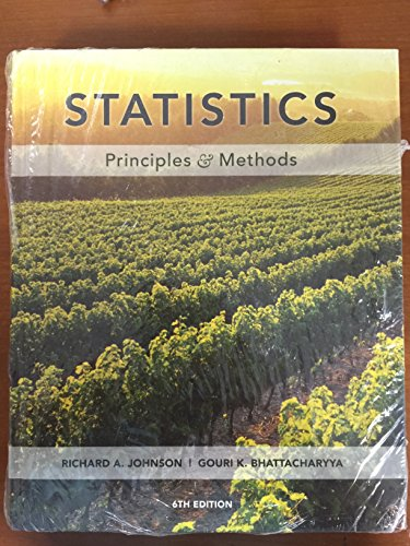 9780470578834: Statistics: Principles and Methods