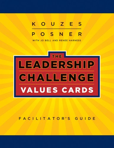 9780470580073: The Leadership Challenge Values Cards Facilitator's Guide Set