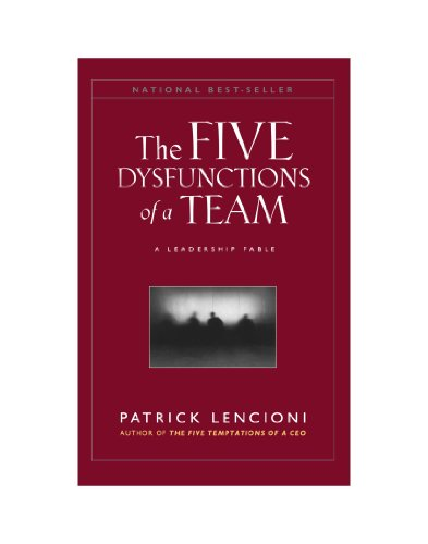 9780470580462: The Five Dysfunctions of a Team,: A Leadership Fable (J-B Lencioni Series)