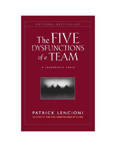9780470580462: The Five Dysfunctions of a Team,: A Leadership Fable (J-B Lencioni)