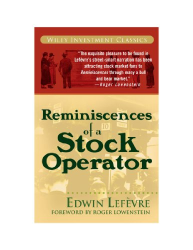 9780470580844: Reminiscences of a Stock Operator (Wiley Investment Classics)