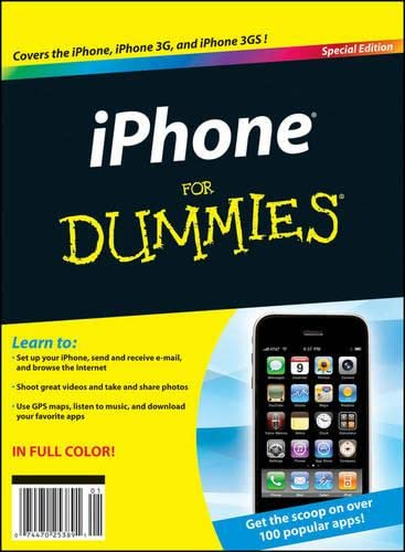 9780470581940: iPhone For Dummies
