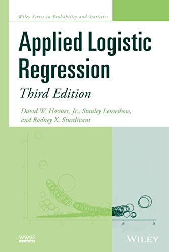 9780470582473: Applied Logistic Regression (Wiley Series in Probability and Statistics)