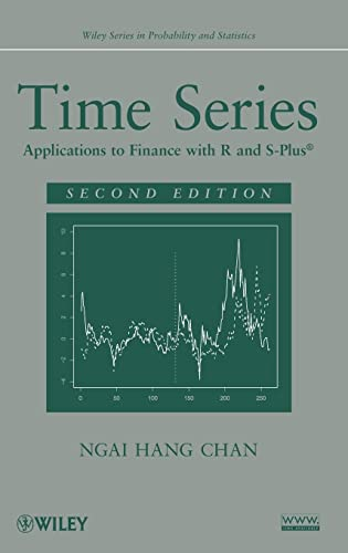 9780470583623: Time Series: Applications to Finance with R and S-Plus