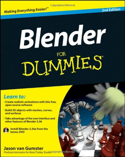9780470584460: Blender for Dummies [With DVD ROM]